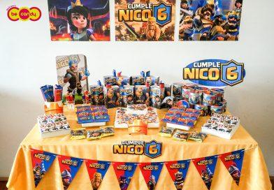 Nico, es el Rey Azul de Clash Royale!